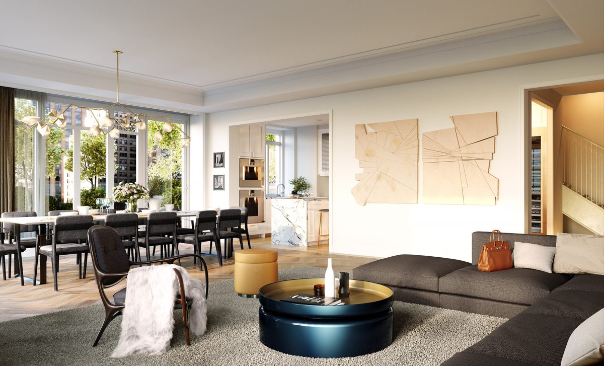 luxury Manhattan condominiums