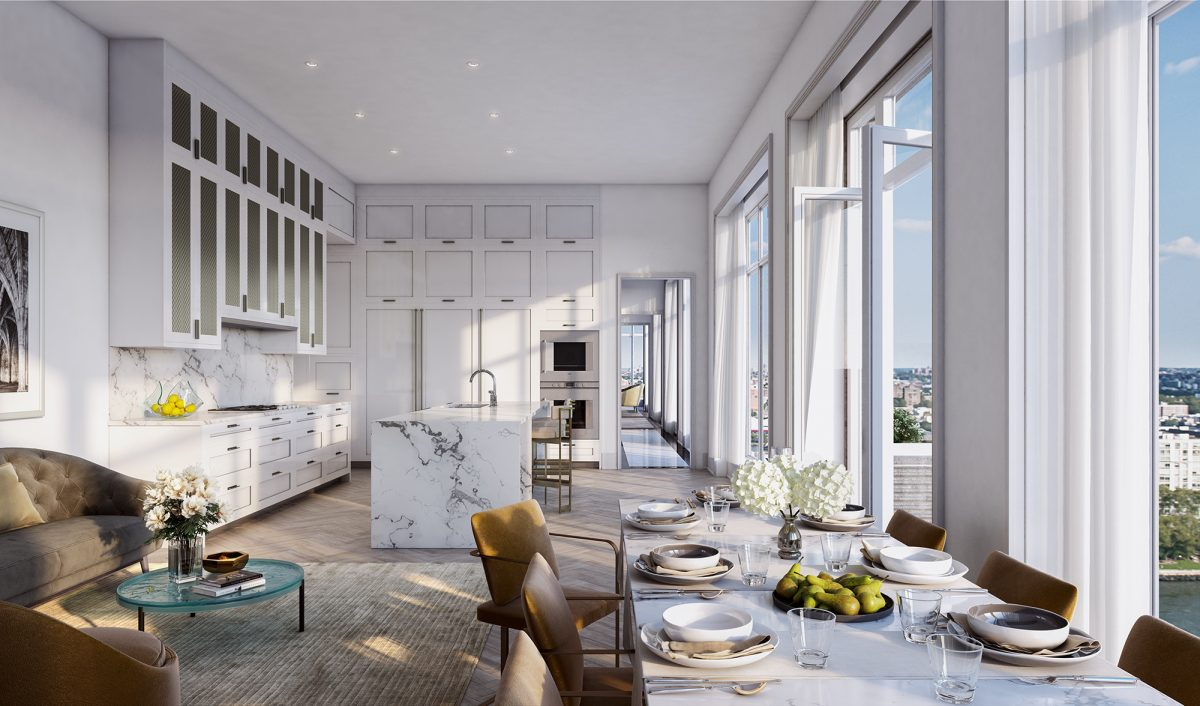 luxury New York City condominiums