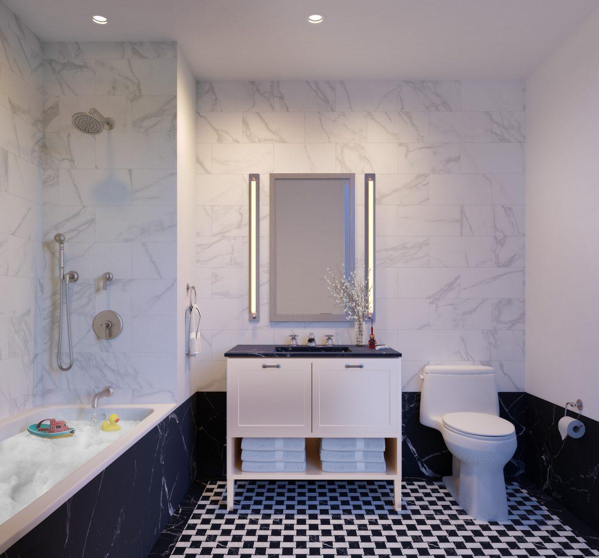 luxury Manhattan condominiums